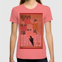 Long Live The Queen  Womens Fitted Tee Pomegranate SMALL