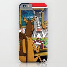Horses Playing Poker iPhone 6 Slim Case