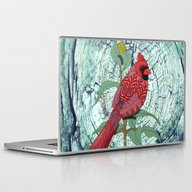 Virginia Cardinal Laptop & iPad Skin