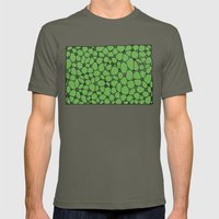 Yzor pattern 006-4 kitai green Mens Fitted Tee Lieutenant SMALL