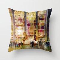 Lincoln Center, New York Throw Pillow