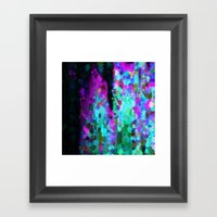 It Reaches. Framed Art Print