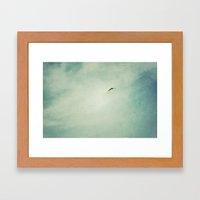 Soar Above Framed Art Print