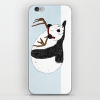 Festive Panda iPhone & iPod Skin