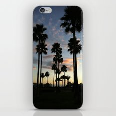 santa barbara sky iPhone & iPod Skin
