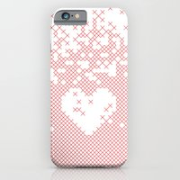iPhone & iPod Case featuring Valentine's gift. x love by Spyros Athanassopoulos