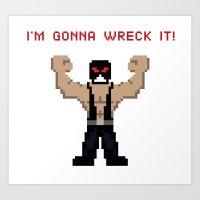 Bane's Gonna Wreck It Art Print