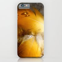 Yellow Feathers iPhone 6 Slim Case