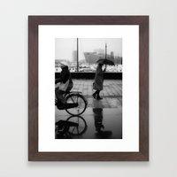 A Rainy Day Framed Art Print