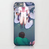 iPhone & iPod Case featuring The pond near the linden tree by Ricardo Bessa