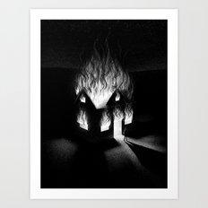 Burn It Down Art Print