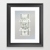 DYNAMITE MONEY Framed Art Print