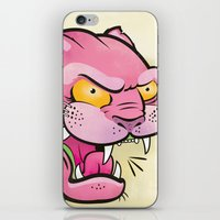 Pink Panther Tattoo Flas… iPhone & iPod Skin