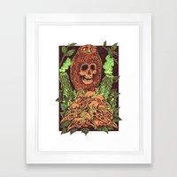 Among The Fray Framed Art Print