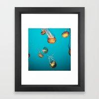 Magical Medusas Framed Art Print