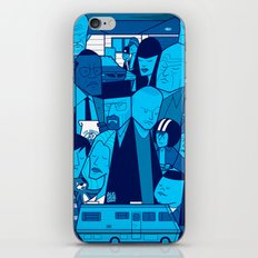 Breaking Bad (blue version) iPhone & iPod Skin