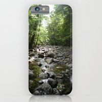 iPhone & iPod Case featuring Stream scene by Bret Caiazzi