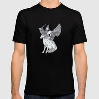 The Wolpertinger Mens Fitted Tee Black SMALL