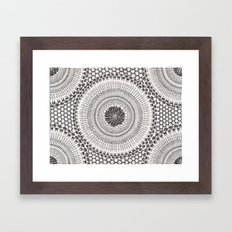 Honeycomb Framed Art Print