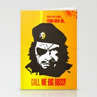 Call Me Big Boss Stationery Cards