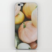 Les Citrouilles iPhone & iPod Skin