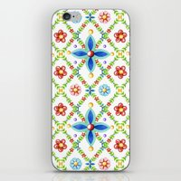 Millefiori Heraldic Lattice iPhone & iPod Skin