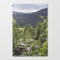 Rocky Mountains Canvas Print