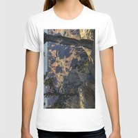 The Grand Canyon and Trees. Womens Fitted Tee White SMALL