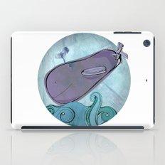 Eggplant Whale iPad Case
