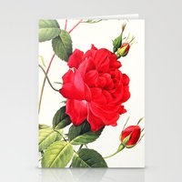 IX. Vintage Flowers Bota… Stationery Cards