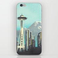 Seattle Space Needle iPhone & iPod Skin