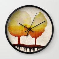 Trees Of Life Wall Clock