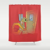 Snake Oil Salesman Shower Curtain