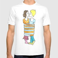 Hold Me Tight Mens Fitted Tee White SMALL