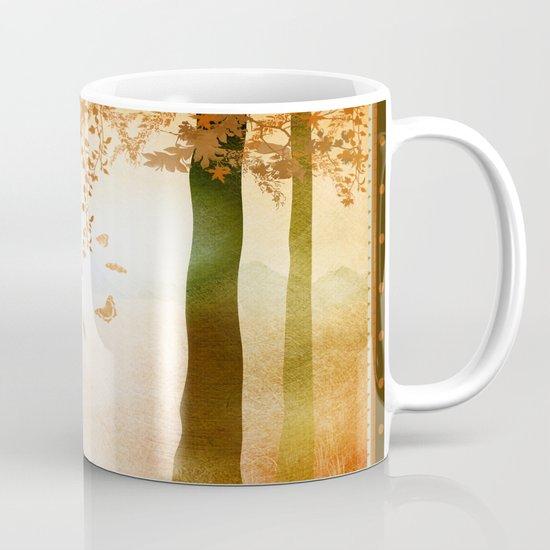 sunrise in autumn Mug