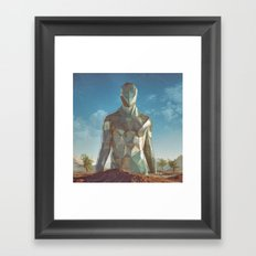DECIMATEDHUMAN.9000 (everyday 04.24.16) Framed Art Print