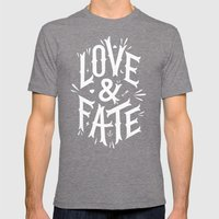 Love & Fate Mens Fitted Tee Tri-Grey SMALL