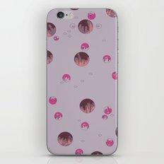 big bubbles - purples iPhone & iPod Skin