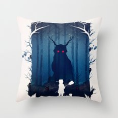 Brave Warriors Throw Pillow