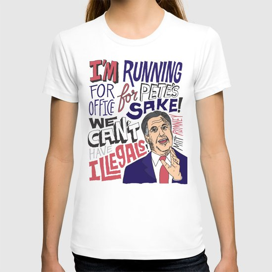 Romney's Illegals T-shirt