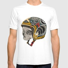 Hell-met Mens Fitted Tee White SMALL