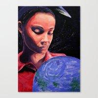 Lamentation Canvas Print