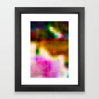 Glitch 003 Framed Art Print
