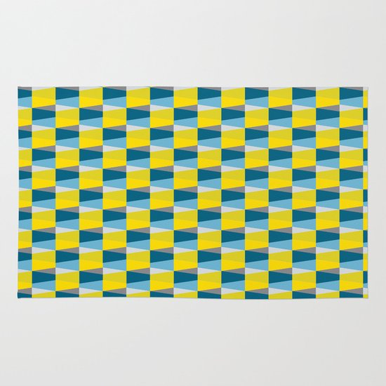 Aronde Pattern Area & Throw Rug