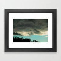 can you tell blue skies from pain? Framed Art Print