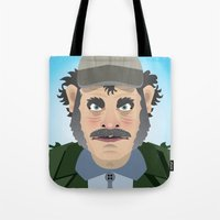 Jaws Quint Tote Bag
