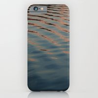 iPhone & iPod Case featuring sunset ripples by Katie Pelon