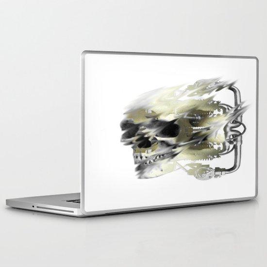 motor skull Laptop & iPad Skin