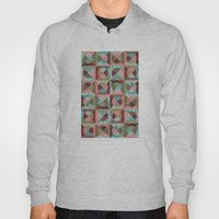 collage mix paper Hoody