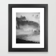 Framed Art Print featuring Everything Turns Gray #s… by 83oranges.com